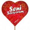 Seni Seviyorum Kalp +5,00 TL