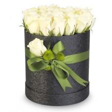 Kutuda 20 Beyaz Güller